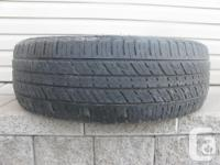 ONE (1) KUMHO CRUGEN PREMIUM TIRE SIZE /235/65/17/ ALL