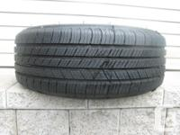 ONE (1) MICHELIN DEFENDER TIRE SIZE /205/55/16/ ALL
