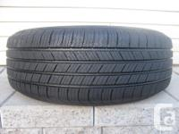 ONE (1) MICHELIN DEFENDER TIRE SIZE /225/60/17/ ALL
