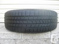 ONE (1) MICHELIN DEFENDER XT TIRE SIZE /215/60/17/ ALL