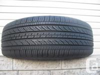 ONE (1) MICHELIN ENERGY MXV4 TIRE SIZE /215/ 55/17/ ALL