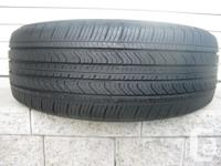 ONE (1) MICHELIN PRIMACY MXV4 TIRE SIZE /215/55/17/ ALL