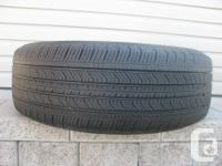 ONE (1) MICHELIN PRIMACY MXV4 TIRE SIZE /235/65/17/ ALL