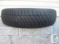 ONE (1) MICHELIN RAINFORCE TIRE SIZE /155/R13/ VERY