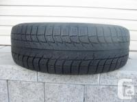 ONE (1) MICHELIN X-ICE WINTER TIRE SIZE /205/65/16/