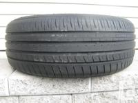 ONE (1) MINERVA EMIZERO HP TIRE SIZE /195/60/15/ ALL