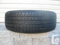 ONE (1) MOTORMASTER 1933 SE3 TIRE SIZE /195/65/15/ ALL