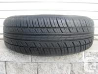 ONE (1) MOTORMASTER 1933 TIRE /185/65/14/ ALL SEASON,