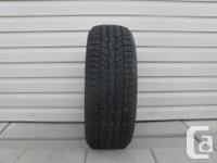 ONE (1) MOTORMASTER 1933 WINTER EDGE TIRE SIZE