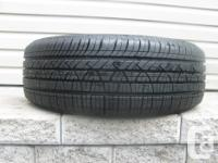 ONE (1) MOTORMASTER SE3 TIRE SIZE /185/60/15/ ALL