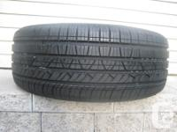 ONE (1) MOTORMASTER 1933 SE3 TIRE SIZE /225/55/17/ ALL