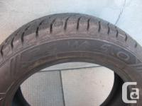 ONE (1) STARFIRE RS-W 5.0 WINTER TIRE SIZE /205/55/16/