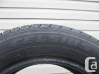 ONE (1) TOYO CELSIUS TIRE SIZE 185/65/15/ ALL SEASON,