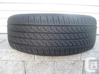 ONE (1) TOYO EXTENSA A/S TIRE SIZE /215/60/16/ ALL