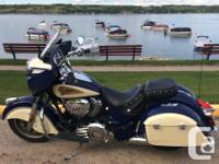 Make Indian kms 14400 Springfield Blue / Cream 2015