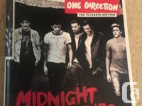 One Direction's Midnight Memories CD. Ultimate version,