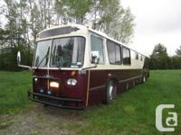 One of a Kind Hand Crafted Motor Home.  1989 Orion bus