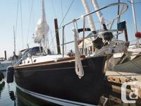 Super sail plan and deep fin keel, twin forestay, self