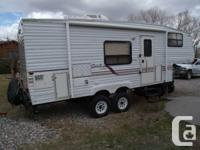Great travel trailer and just the right size. Very