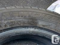 Michelin X-ice Xi2 studless winter tire. Size