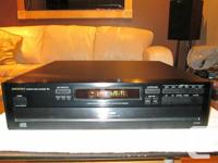 I am selling my Onkyo DX-C220 6 Disc CD Player. Unit