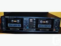 Onkyo Dual Audiophile Cassette Tape Deck TA-RW11 Auto
