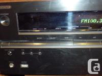 ONKYO TX-NR515 7.2 receiver 100wpc. 8 in 2 out hdmi,