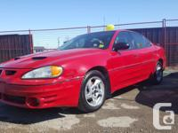 Make Pontiac Model Grand AM Year 2004 Colour Red Trans