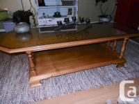 Gorgeous solid Roxton maple coffee table Top has been