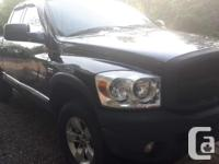 Make Dodge Model Ram 1500 Year 2007 Colour Black kms