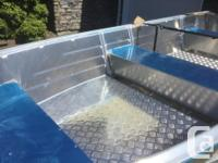BRAND NEW 14' AND 16' WELDED ALUMINUM BOATS Length: