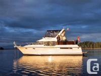 Ocean Alexander 42' will be at Maple Bay Marina this