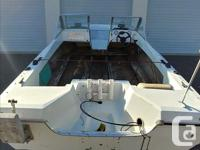 17'6 K&C Thermoglass Bow Rider and trailer - all the