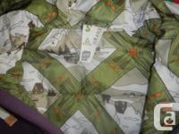 Orage insulated women's zip up hoodie. Like new, worn 1