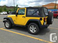 Jeep Wrangler available for sale.  Information:.  -