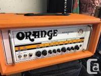 Made in England. Original Rockerverb series 50 watt amp