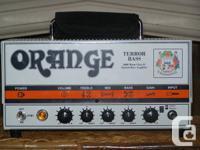 Selling my Orange Terror 1000 bass amp. The Orange
