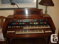 Hammond Organ.  Original Proprietor.  When it was built