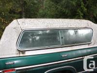 Original 1974-77 Ford Deluxe white Long Box canopy