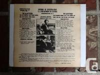ORIGINAL BONNIE & CLYDE WANTED POSTER, THIS IS A POSTAL
