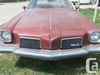 Make Oldsmobile Model Cutlass Supreme Year 1973 Colour