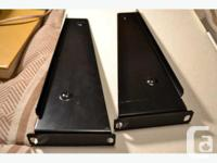 GENUINE HIGH QUALITY ALL-METAL RACKMOUNTS / HANDLES