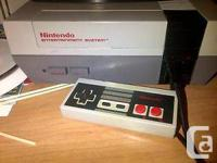 I have here an original nes nintendo in good working