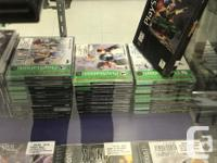 We have hundreds of PS1 games currently in stock!