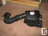From an 08 Saleen. Original cold air box and intake