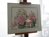 Original watercolour by Jeanette McClelland. Painting