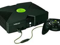 X-Box Console w/ 2 separate Video outs 2 Controllers