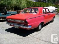 Make Plymouth Model Valiant Year 1963 Colour Red kms