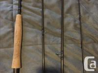 Selling my Orvis fly rod and reel. The tip of the rod