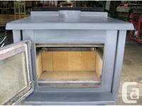 """Osborn Woodstove , approved for mobile or home 6"""" pipe"""